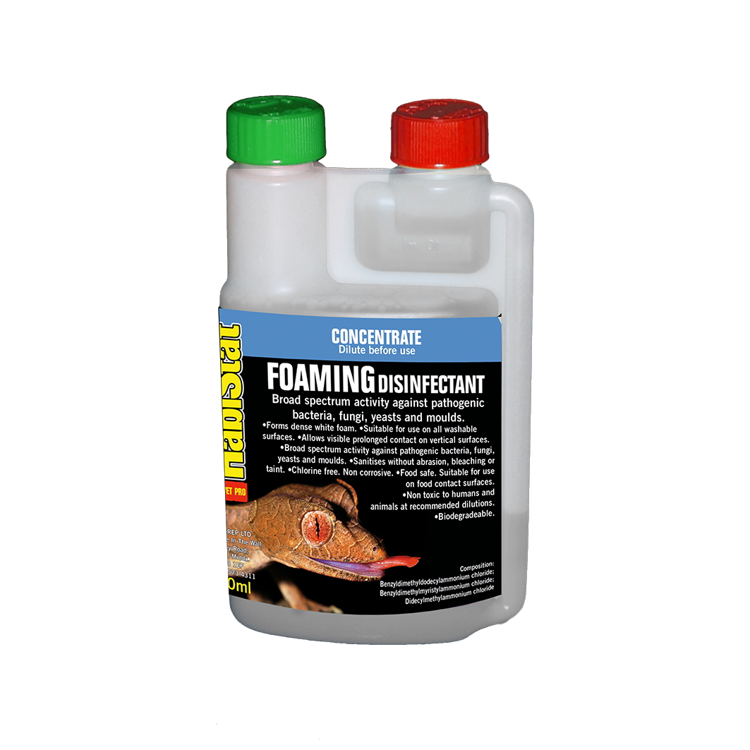 HabiStat Disinfectant Foam Cleaner Concentrate 250ml