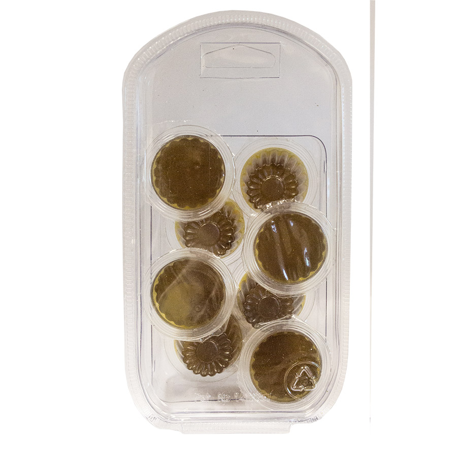 Jelly Pots 8 Pack Black Sugar